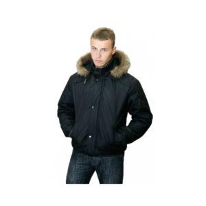 Куртка-аляска зимняя Спринт черная