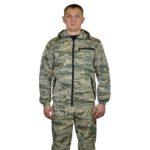 Костюм мужской «Пограничник2» летний, кмф тк. грета «Серый легион»