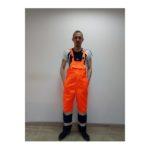 костюм дорожник летний оранж+т\синий