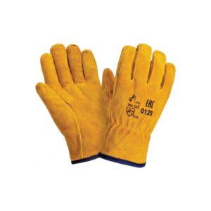 Перчатки «Драйвер С» 0128 (спилок+иск.мех)
