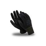 Перчатки Микро ПОЛ  (нейлон+п\у) черные
