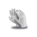 Перчатки нейлоновые  с точкой ПВХ