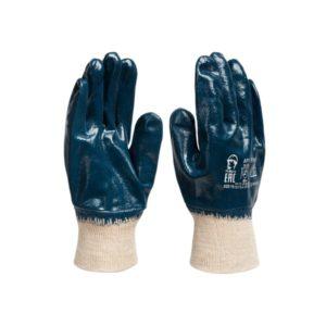 Перчатки нитриловые (трикотажный манжет)