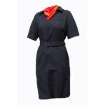 Платье «Полиция» к/р  (габардин)