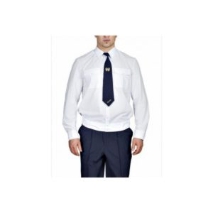 Рубашка «Полиция» дл/рукав белая на резинке