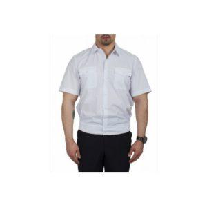 Рубашка  «Полиция» белая  кор/рук на  резинке