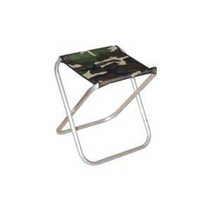 Складной стул (табурет) из алюминия